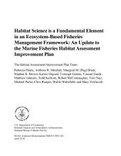 Image result for Habitat science is a fundamental element in an ecosystem-based fisheries management framework :  an update to the Marine Fisheries Habitat Assessment Improvement Plan